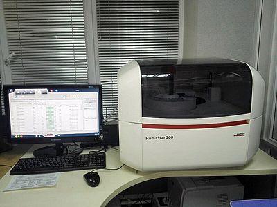 Биохимический анализ крови собаки и кошки в течении 40 минут.